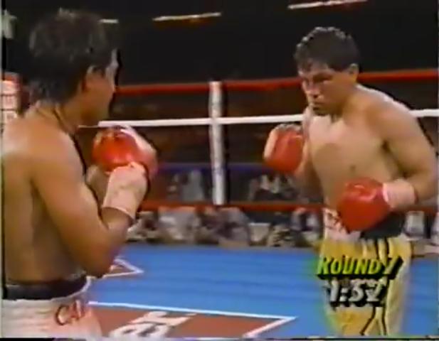 """""""Chiquita"""" González vs. Carbajal."""