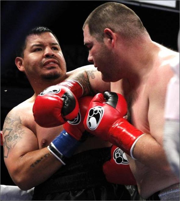 Andy Ruiz Jr. Noqueó En El Primer Round