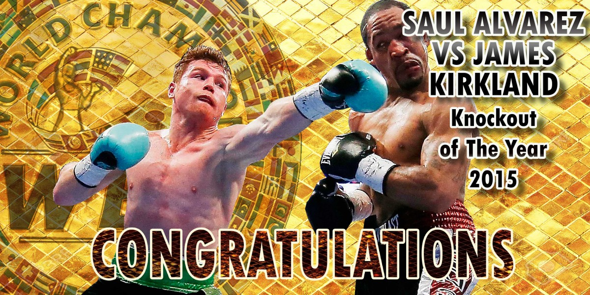 Knockout of The Year Saul Alvarez VS James Kirkland -