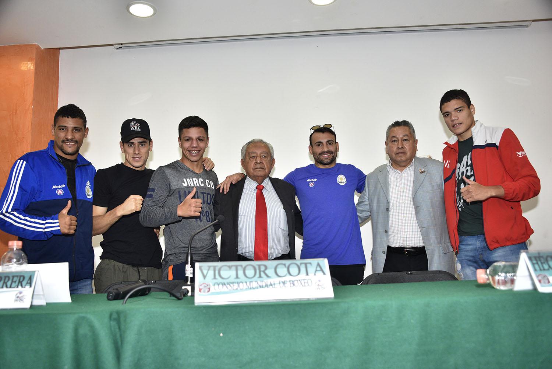 Boxeadores Uruguayos y Victor Cota