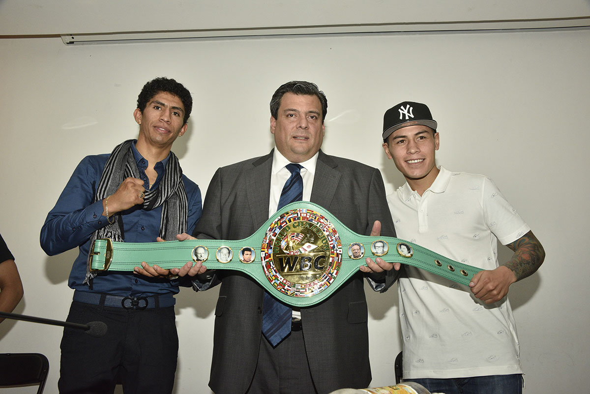 Rey Vargas; Mauricio Suliamán, Y Andrés Guitiérrez