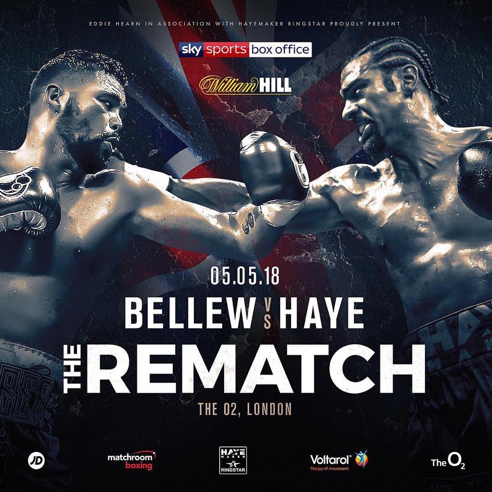 BELLEW HAYE 2 REMATCH