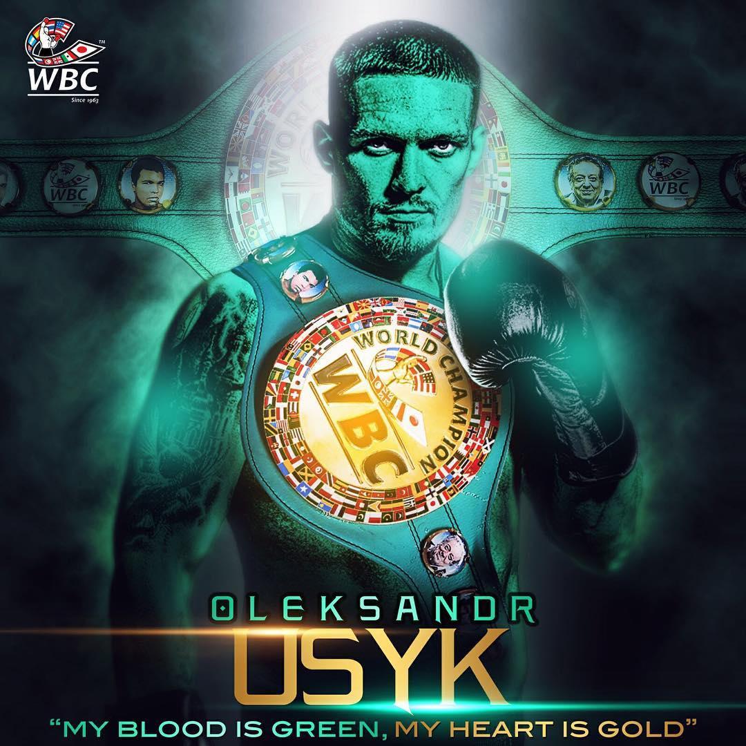 USYK WBC