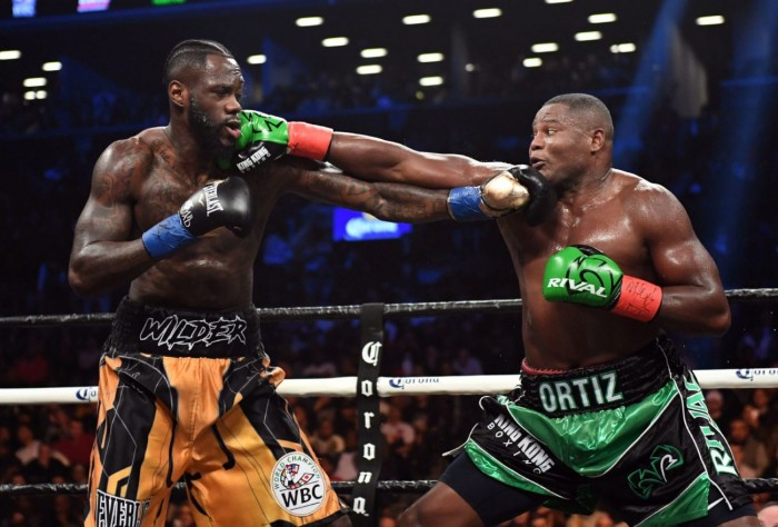 wilder ortiz fight