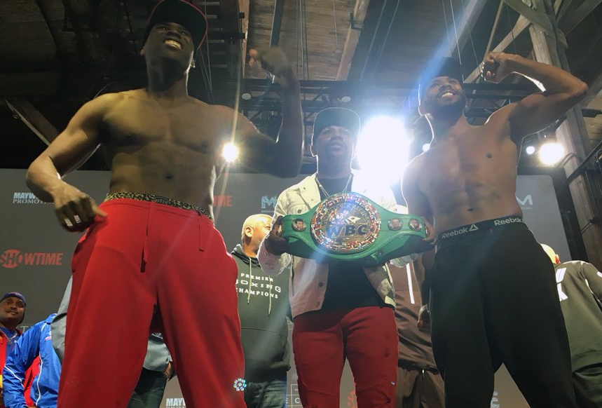 ADONIS JACK WEIGH IN