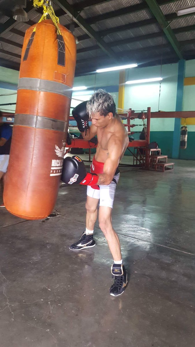 cristofer rosales training