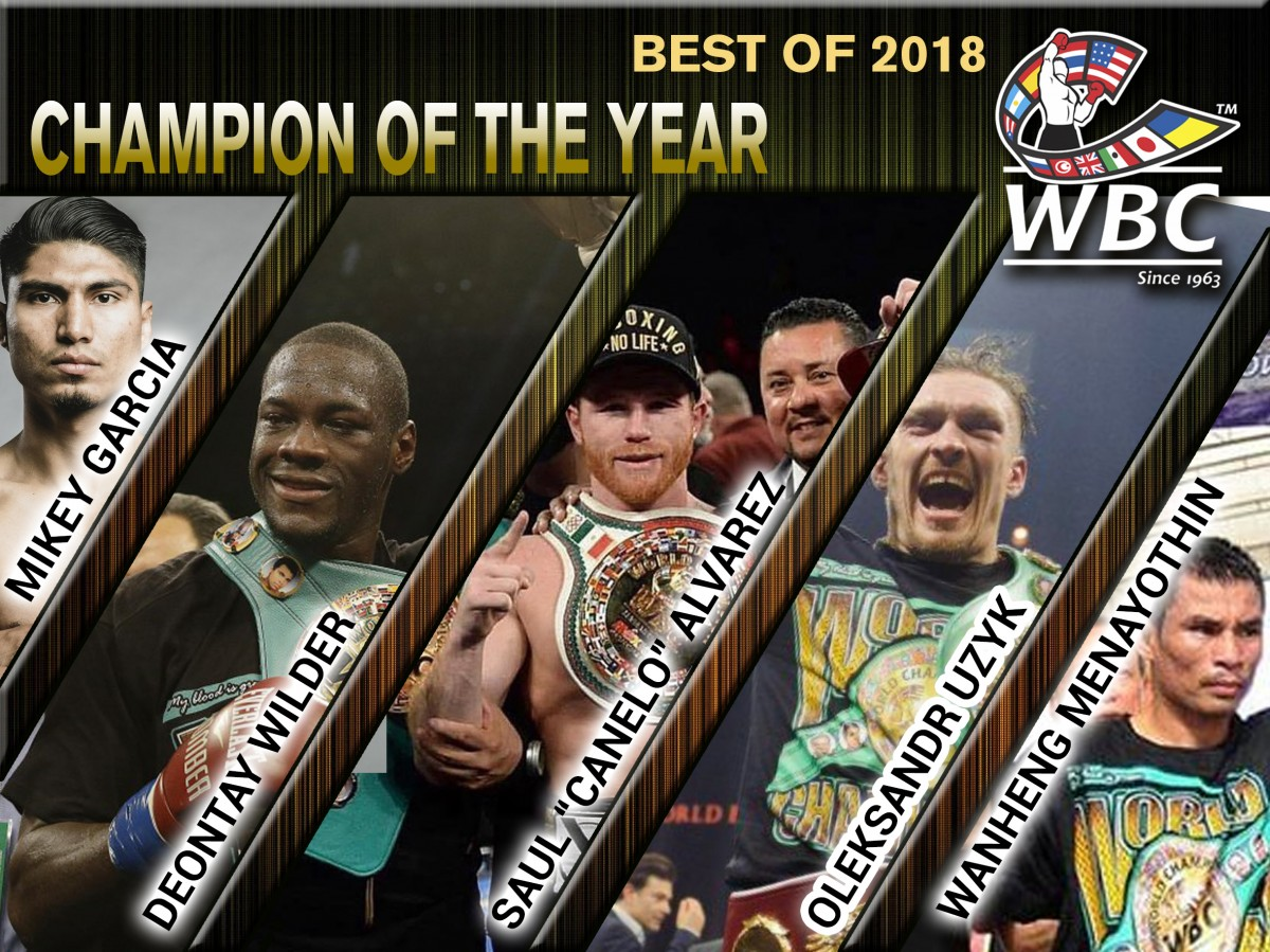 1 CHAMPION OF THE YEAR