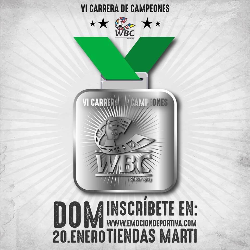 medalla carrera 19