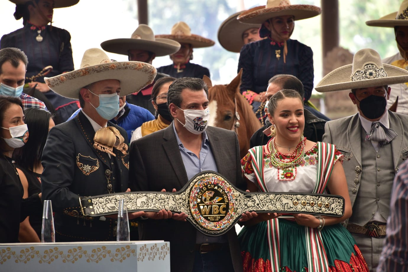 Spectacular & Unforgettable Presentation of the Magnificent Mestizo Belt | Boxen247.com