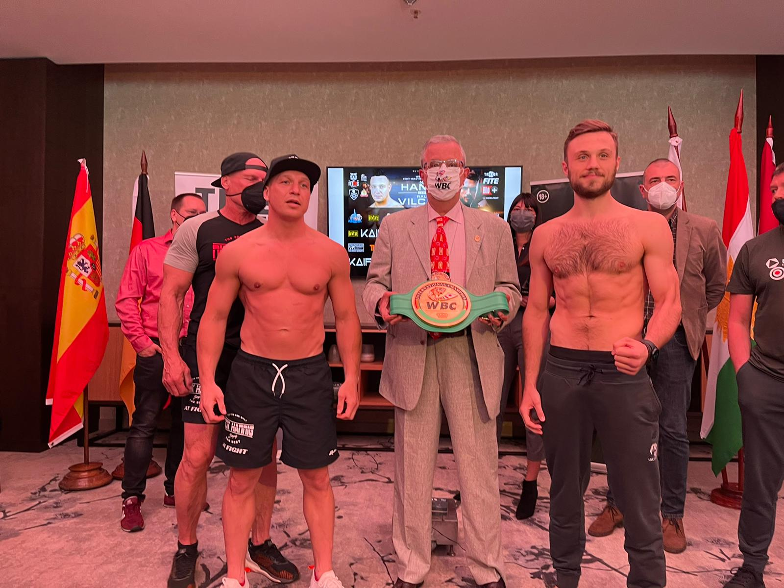 Nick Hannig vs. Ralfs Vilcans Fight Card Weights From Serbia | Boxen247.com