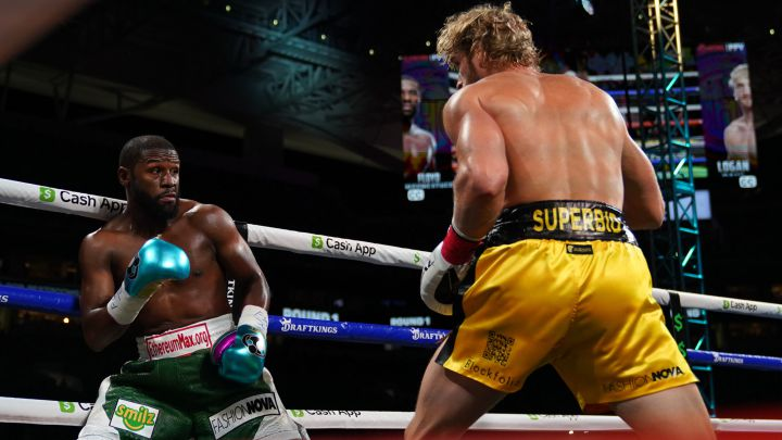 Floyd Mayweather & Logan Paul go the distance in exhibition bout | Boxen247.com