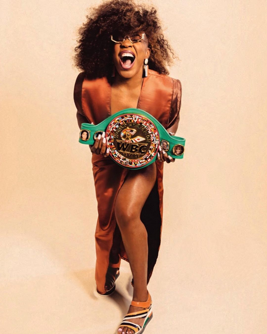 Profile of WBC Super Middleweight Champion, Franchon Crews-Dezurn | Boxen247.com