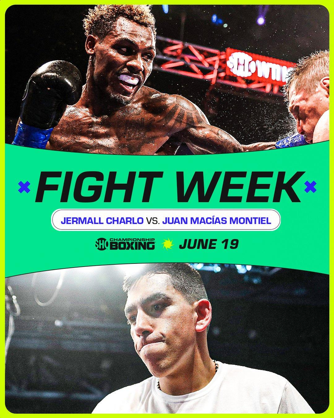 Jermall Charlo vs. Juan Macías Montiel this Saturday June 19 | Boxen247.com
