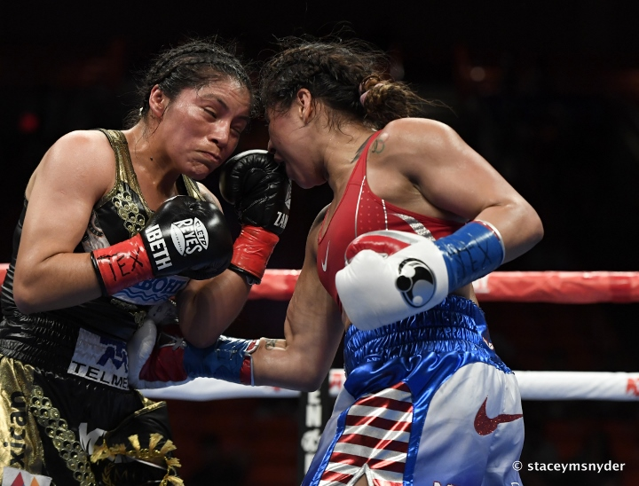 Marlen Esparza defeats Ibeth Zamora for WBC title | Boxen247.com