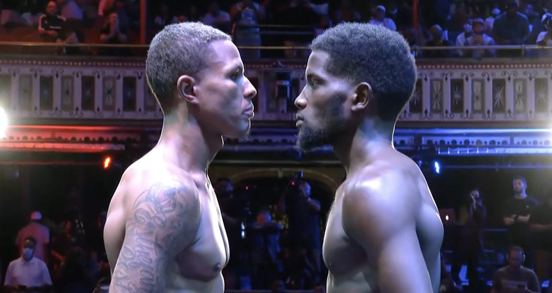 Erickson Lubin & Jeison Rosario make weight ahead of tomorrow | Boxen247.com (Kristian von Sponneck)