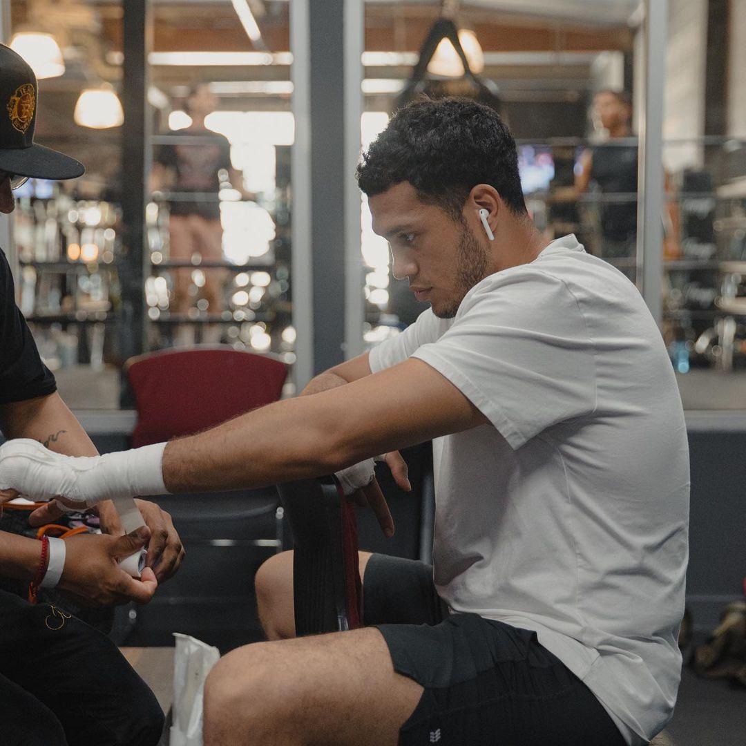 David Benavidez readies for WBC eliminatory bout on August 28   Boxen247.com (Kristian von Sponneck)
