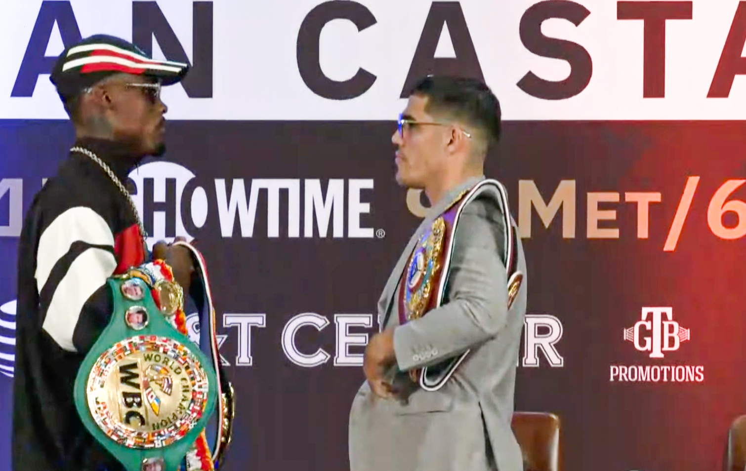 All or nothing! Charlo and Castaño face to face | Boxen247.com (Kristian von Sponneck)