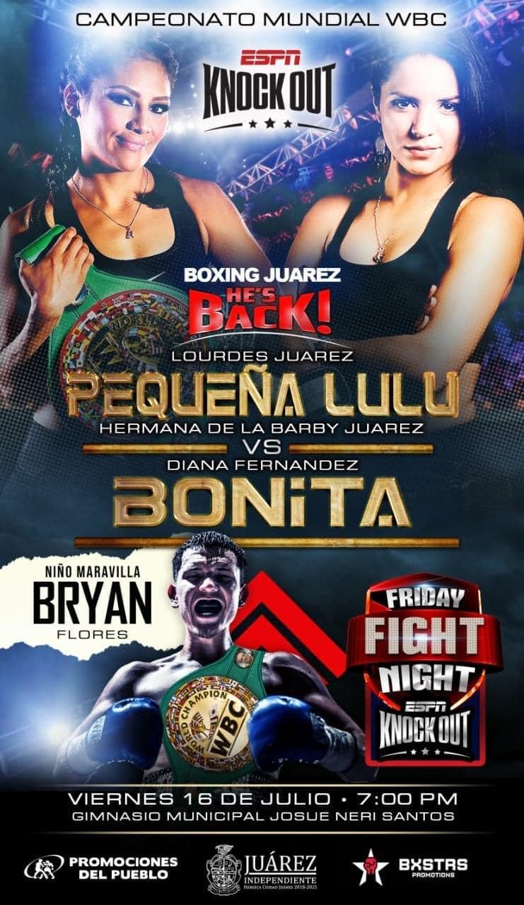 Juárez vs. Fernandez rematch ready to ignite!   Boxen247.com (Kristian von Sponneck)