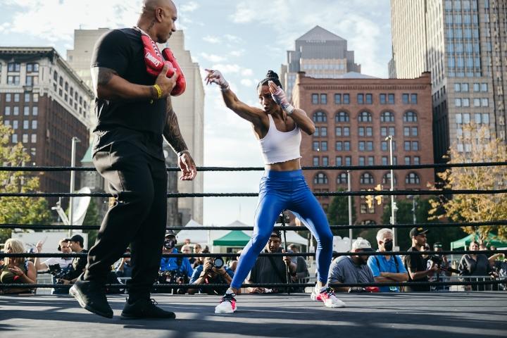 Amanda Serrano in phenomenal shape ahead of Yamileth Mercado clash | Boxen247.com (Kristian von Sponneck)