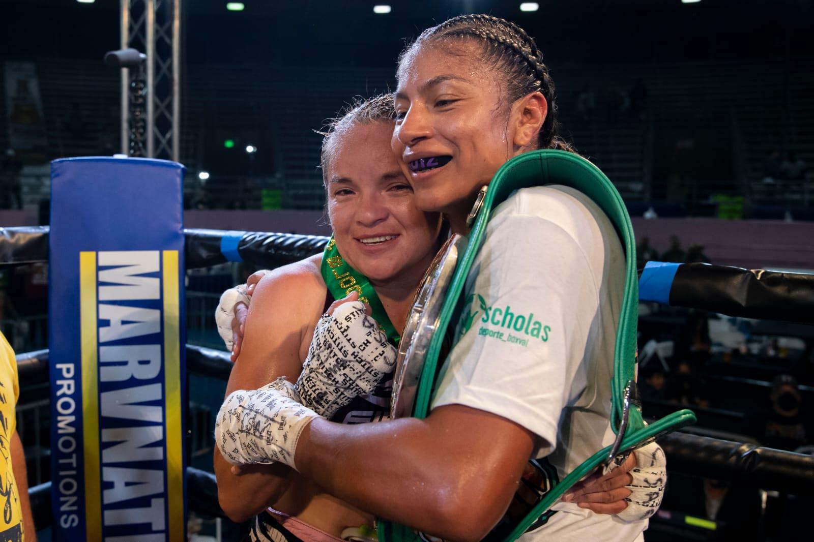 Adelaida Ruiz defeats Nancy Franco De Alba for WBC Silver Title   Boxen247.com (Kristian von Sponneck)