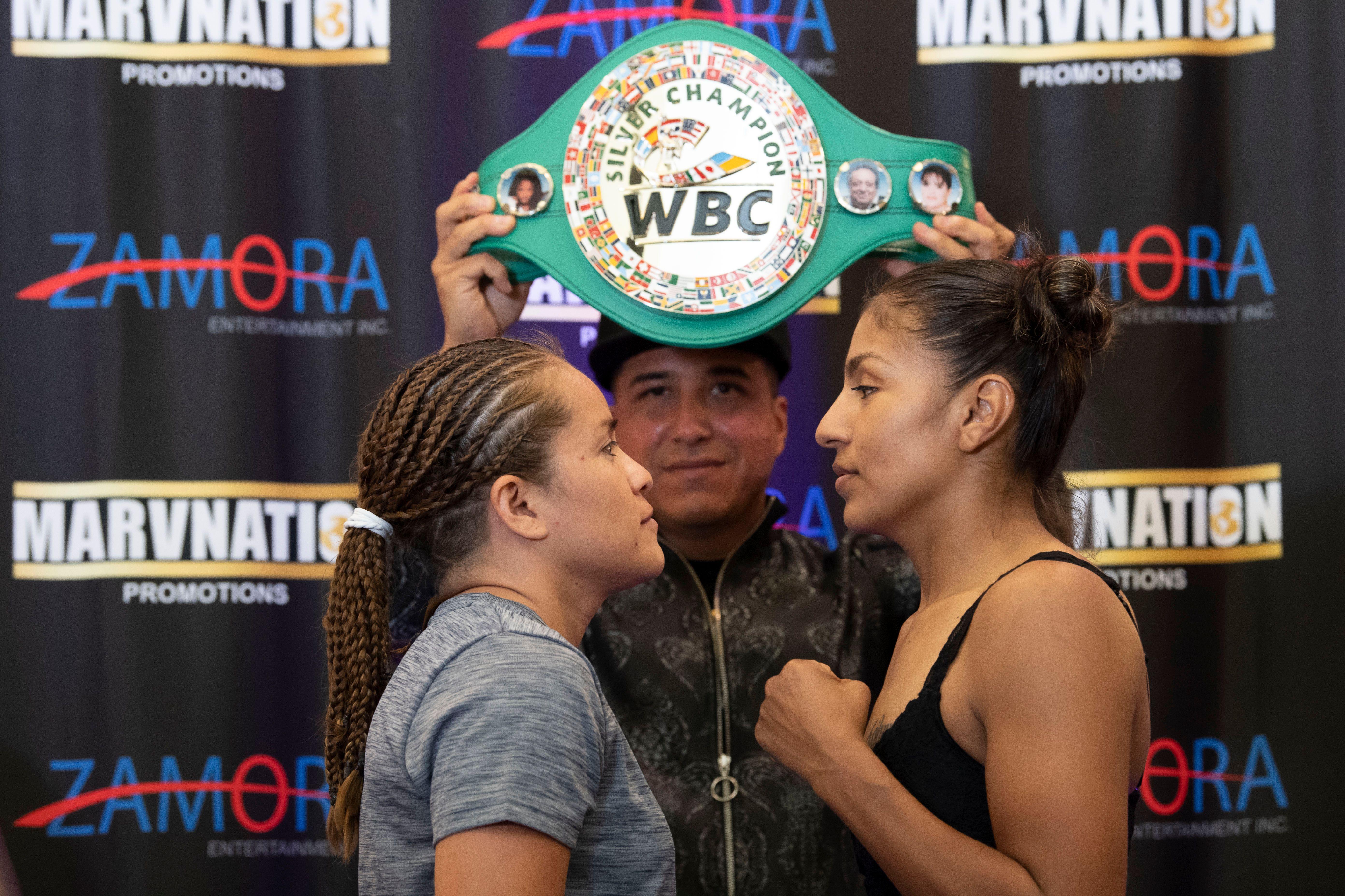Adelaida Ruiz vs. Nancy Franco weights from California, USA   Boxen247.com (Kristian von Sponneck)